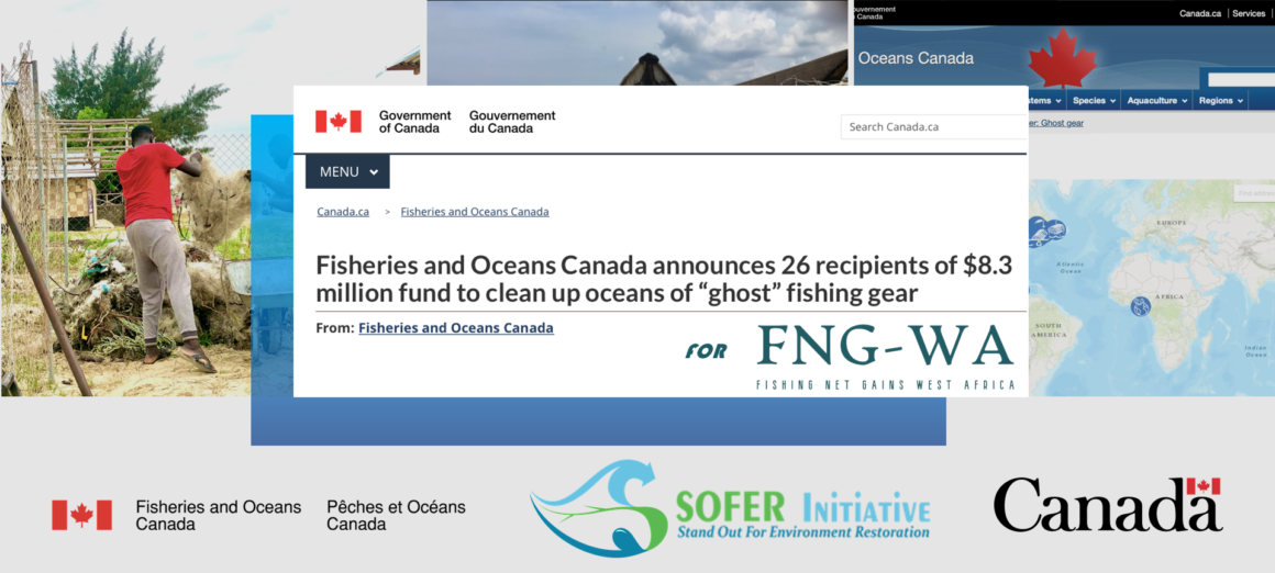 SOFER Initiative receives the Ghost Gear Fund from Fisheries and Oceans Canada